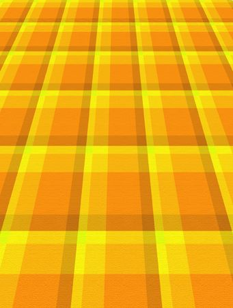 Bright yellow and orange perspective background.