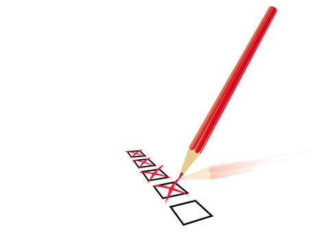 rectify: domanda di carta Vettoriali