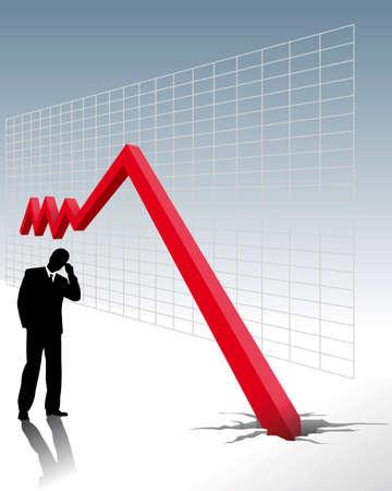 Economic crisis - to go bankrupt