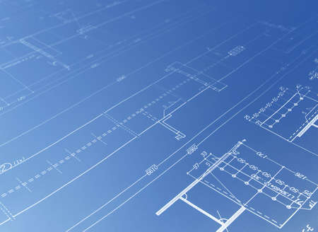 architectural drawing Stock Photo - 4658603