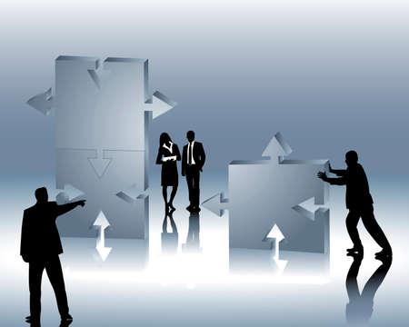 foundations: company formation Illustration