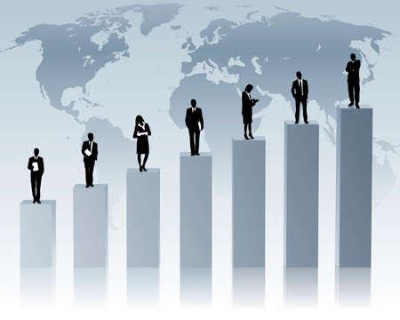 graph: globalen Aufw�rtstrend