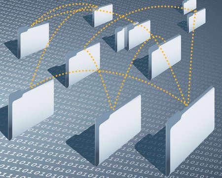 carpeta: la creaci�n de redes Vectores