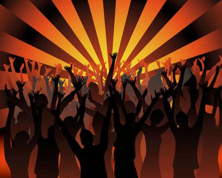 dancing people Stock Vector - 4763753