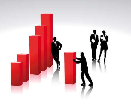grafico vendite: creare una barra di diagramma