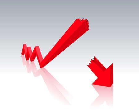 crisis Stock Illustratie