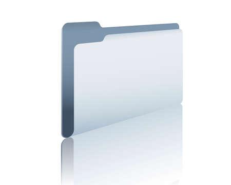 stack of files: folder Illustration