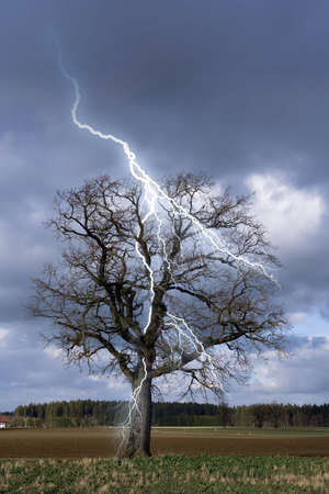 lightning flash photo