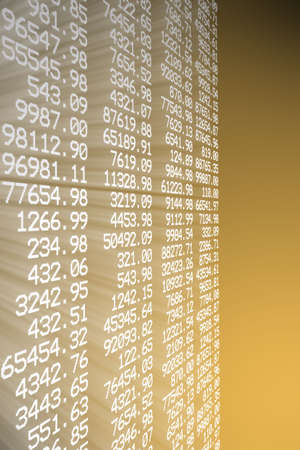 stockexchange: stock chart Stock Photo