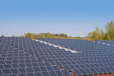 energy sources: solar energy Stock Photo