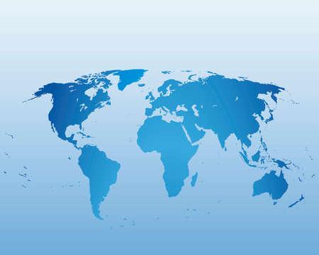 north america map: Mappa del mondo