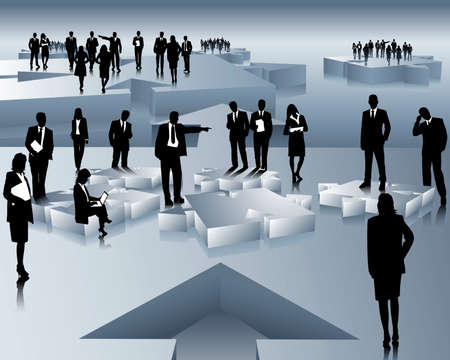 teamwork Stock Vector - 4792571