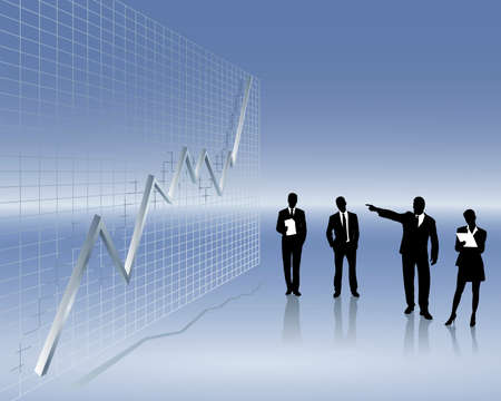 grafico vendite: andamento delle vendite