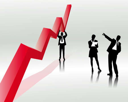 desarrollo econ�mico: tendencia de ventas