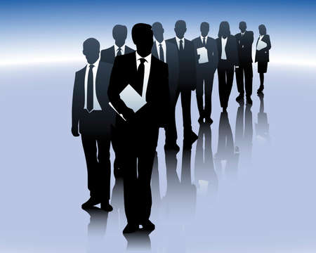 Business team Stock Vector - 4792538