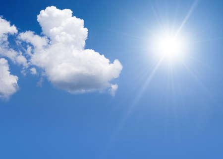 the sun is shining photo