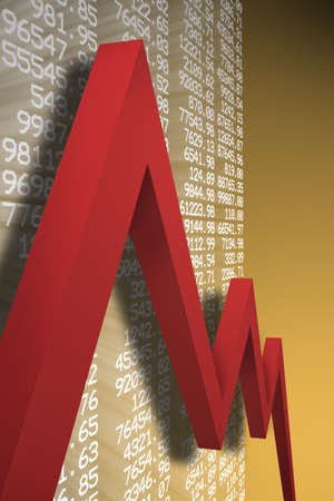 economic downturn Stock Photo