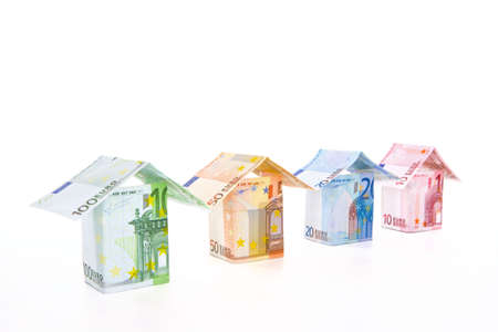 acquire: real estate prices Stock Photo