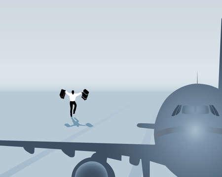 air traffic: el hombre perdi� su vuelo