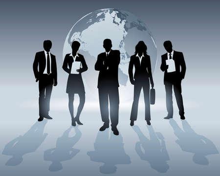 global team Stock Vector - 4980967