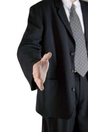poign�es de main: relations d'affaires