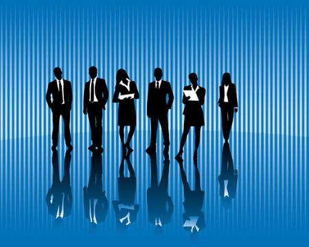 collegial: Business team