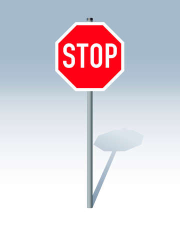 Stop sign Stock Vector - 5004086
