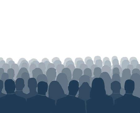 spokesperson: audience Illustration