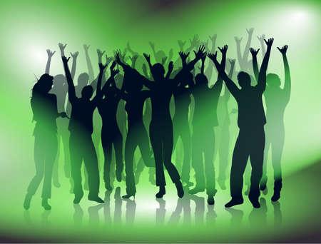 freaky: young dancing people