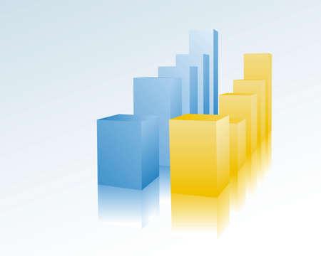 bar chart Stock Vector - 5076638