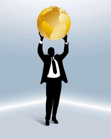 international business relationship Vector