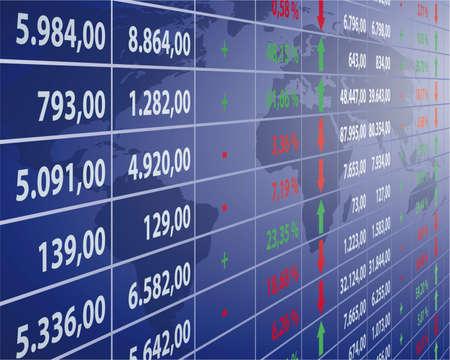 profit and loss: Borsa Vettoriali