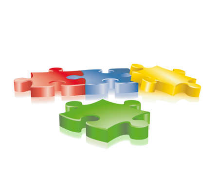 structure of a: jigsaw