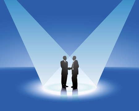 business partner Stock Vector - 5540920