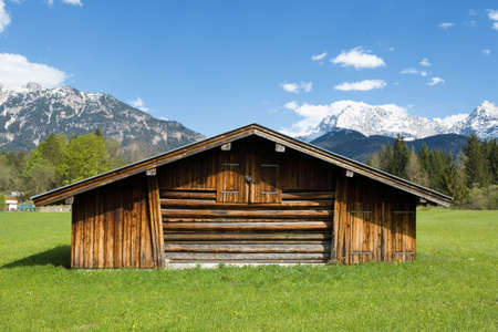alpine zone: Bavarian landscape in the mountains