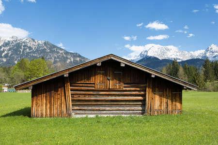 alpine zone: Bavarian landscape in the mountains