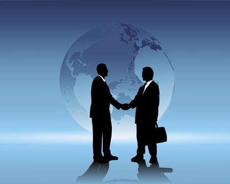 compromiso: negocios internacionales Vectores