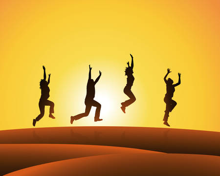 leap: zest for life Illustration