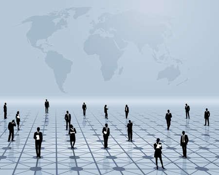 global networking: El trabajo en equipo