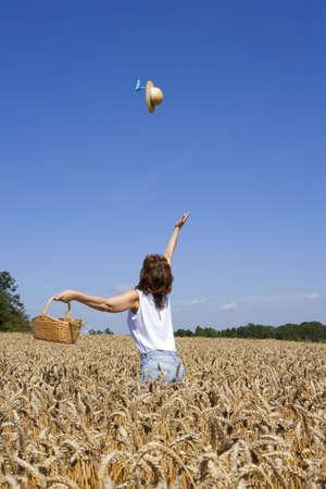 lust for life: summer feelings Stock Photo