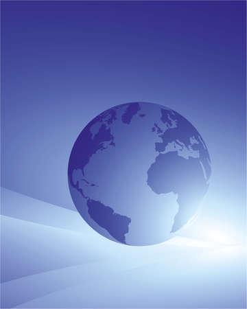 blue planet Stock Vector - 5871718