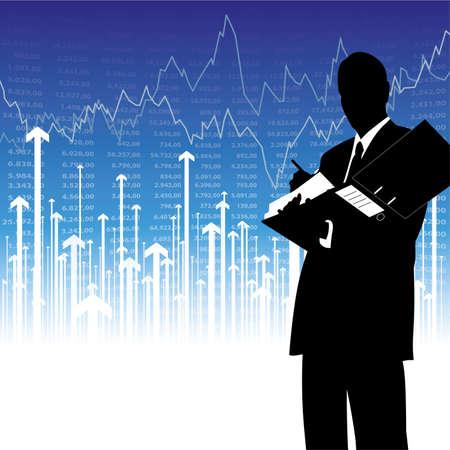stockbroker Stock Vector - 5871722