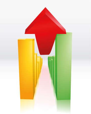 economic recovery Stock Vector - 6385343