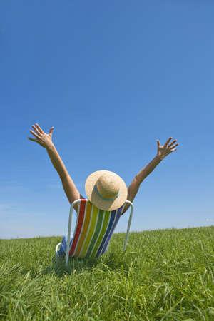 strandstoel: levens lust