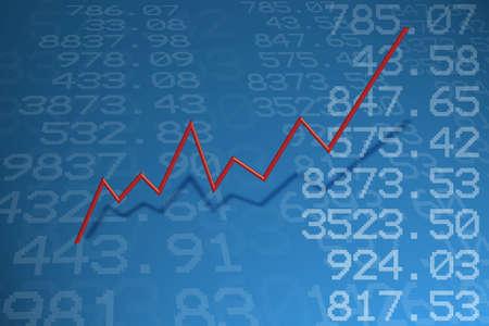 Aandelenkoersen Stockfoto - 6385354