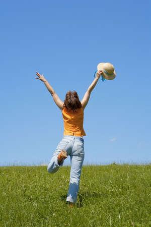 lebensfreude: Lebenslust Lizenzfreie Bilder