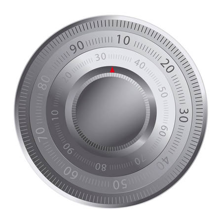 Combination lock of a safe