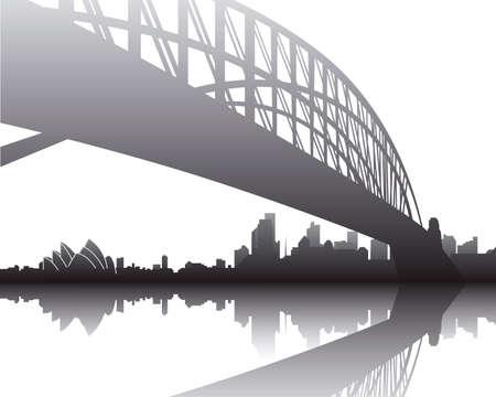 harbour: Sydney Harbour Bridge