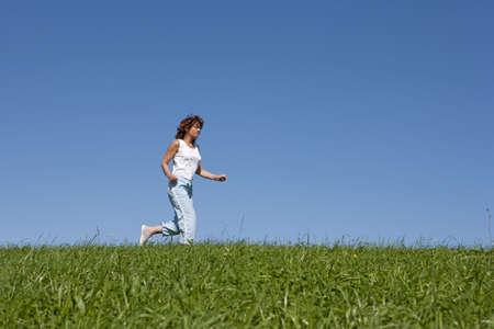 Jogging Banco de Imagens