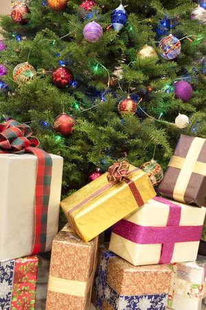 Christmas gifts Stock Photo - 7701504
